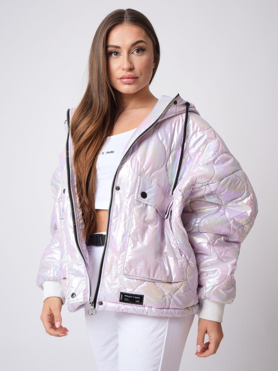 Zig-zap Quilted Winter Jacket