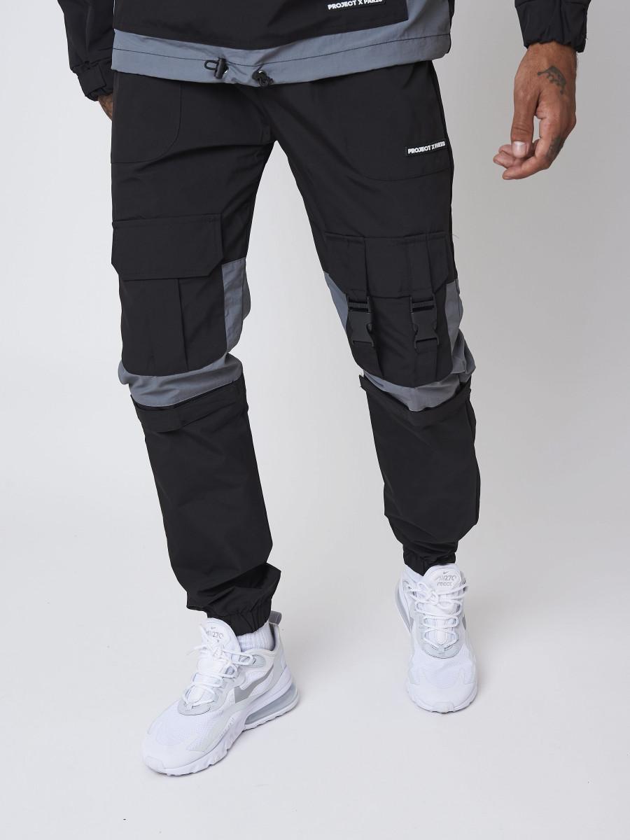 Pantalon style cargo avec détail clips