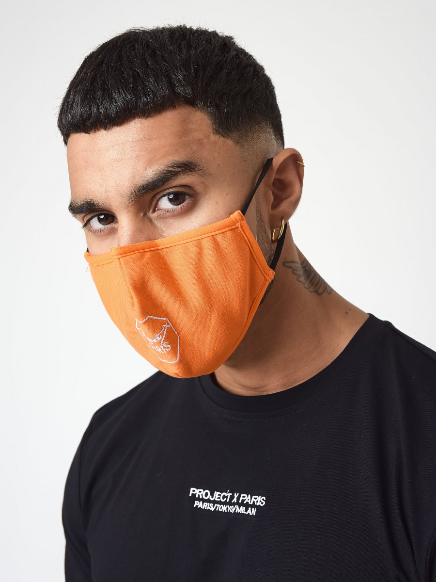 Embroidery Logo Face Mask