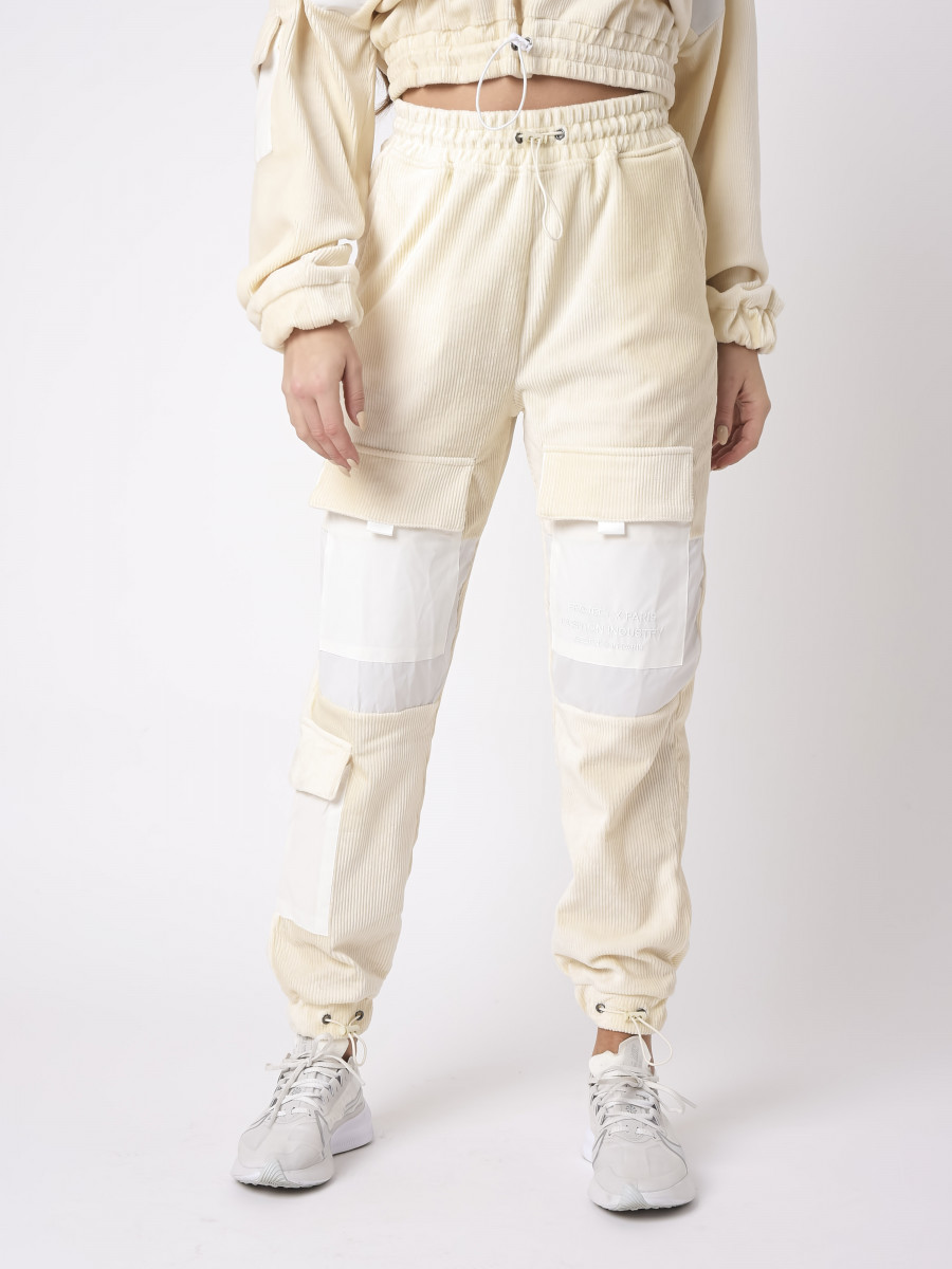 Corduroy Pant with Patch Pockets