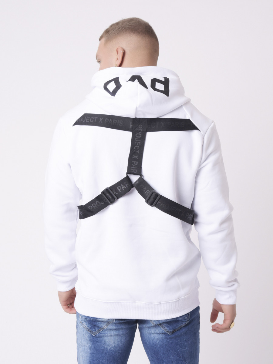 Hoodie with Back straps