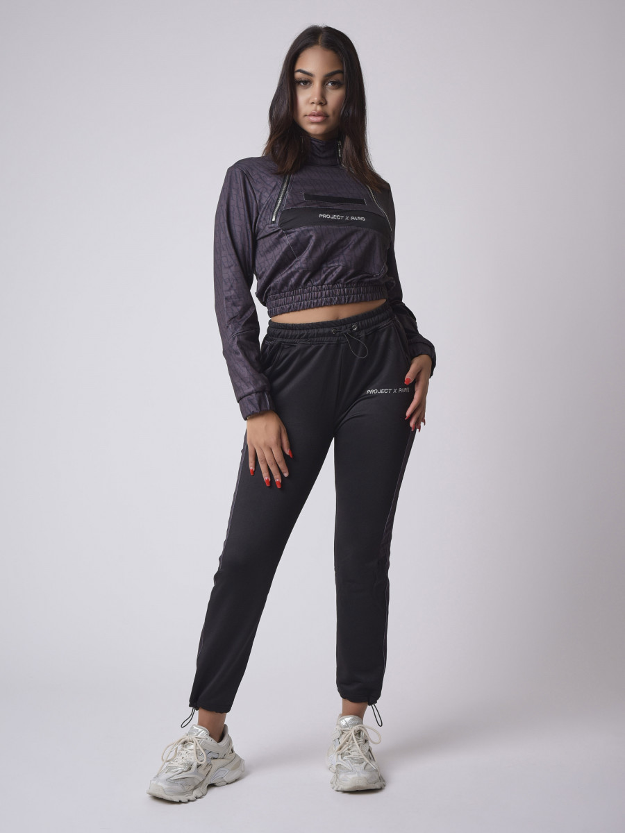 PXP all-over pull-on sweater