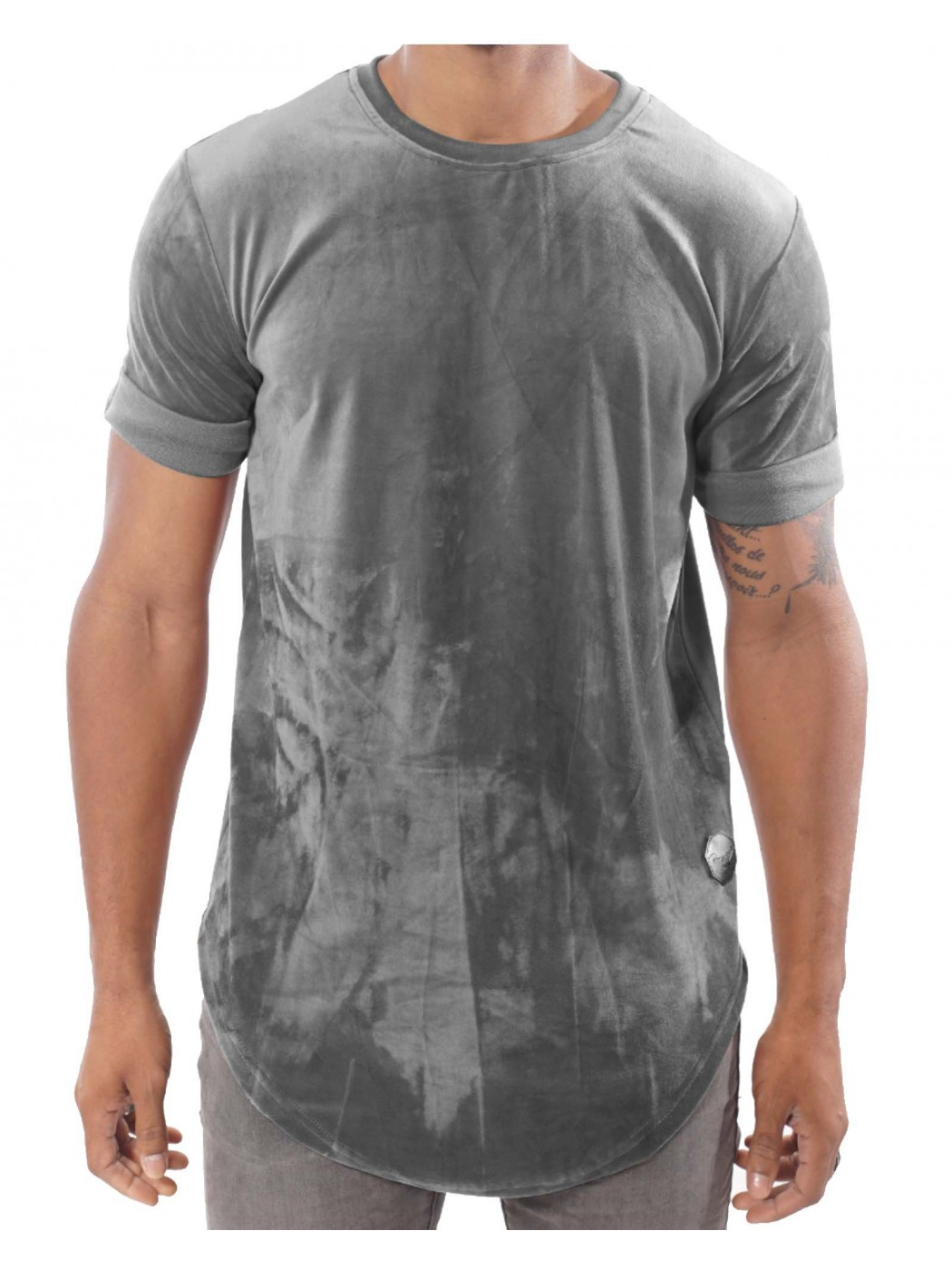 tee shirt en velours oversize homme project x paris 88161135. Black Bedroom Furniture Sets. Home Design Ideas