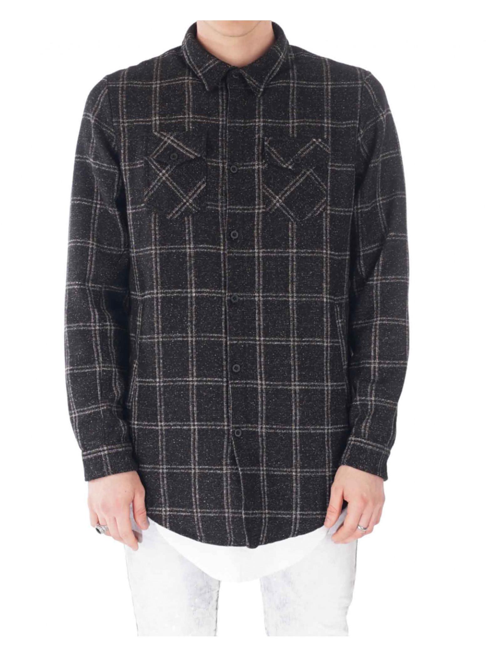 chemise carreaux homme project x paris 88166603 projectx paris. Black Bedroom Furniture Sets. Home Design Ideas
