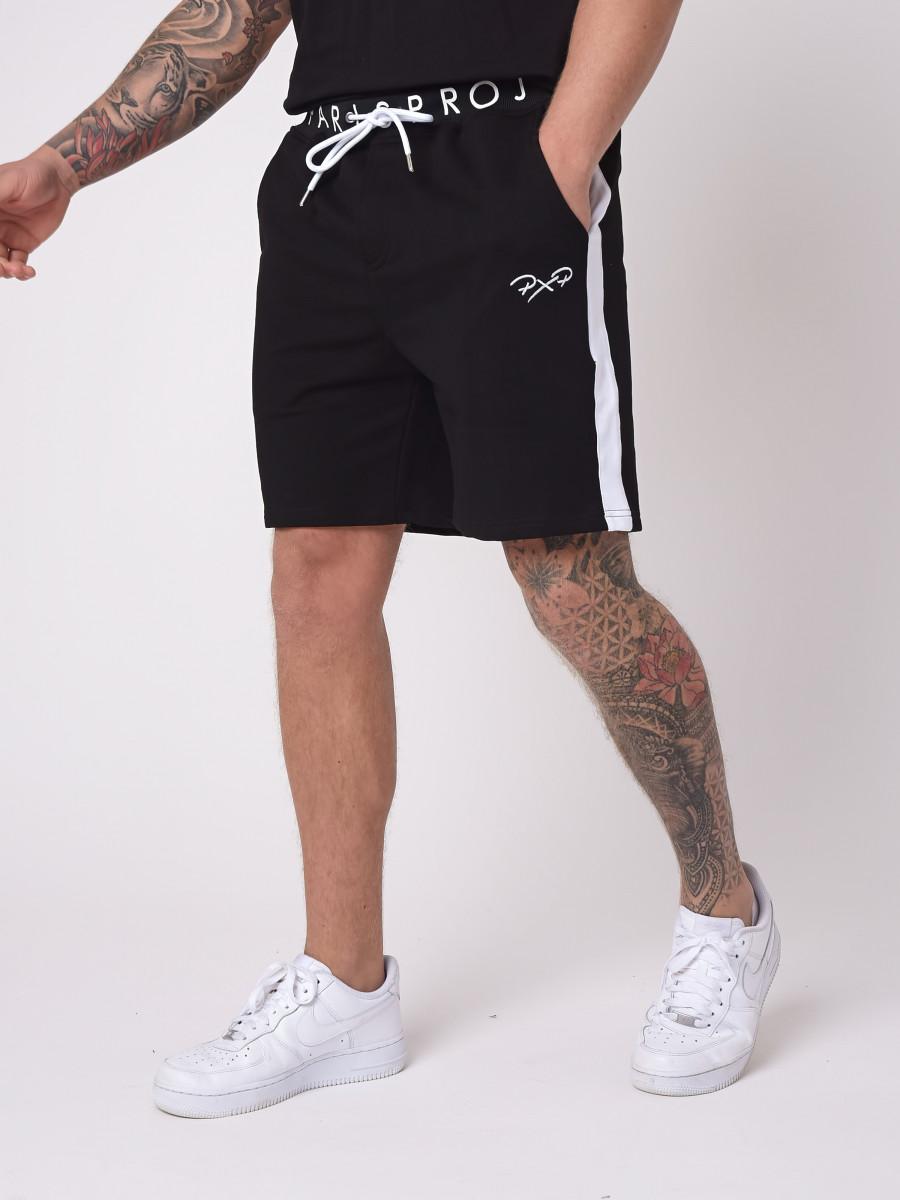 Short basic avec logo à la ceinture