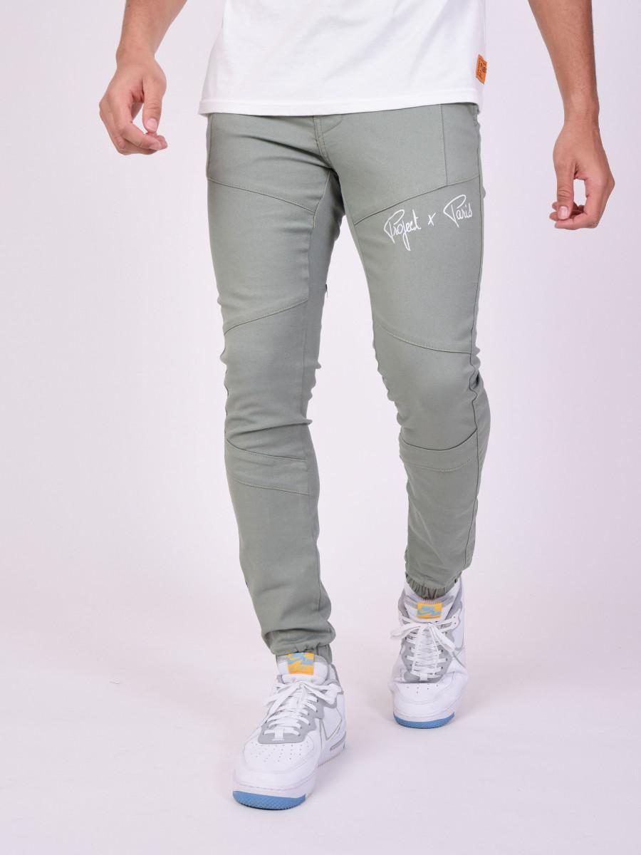 Basic Super Skinny Pants with visible seams