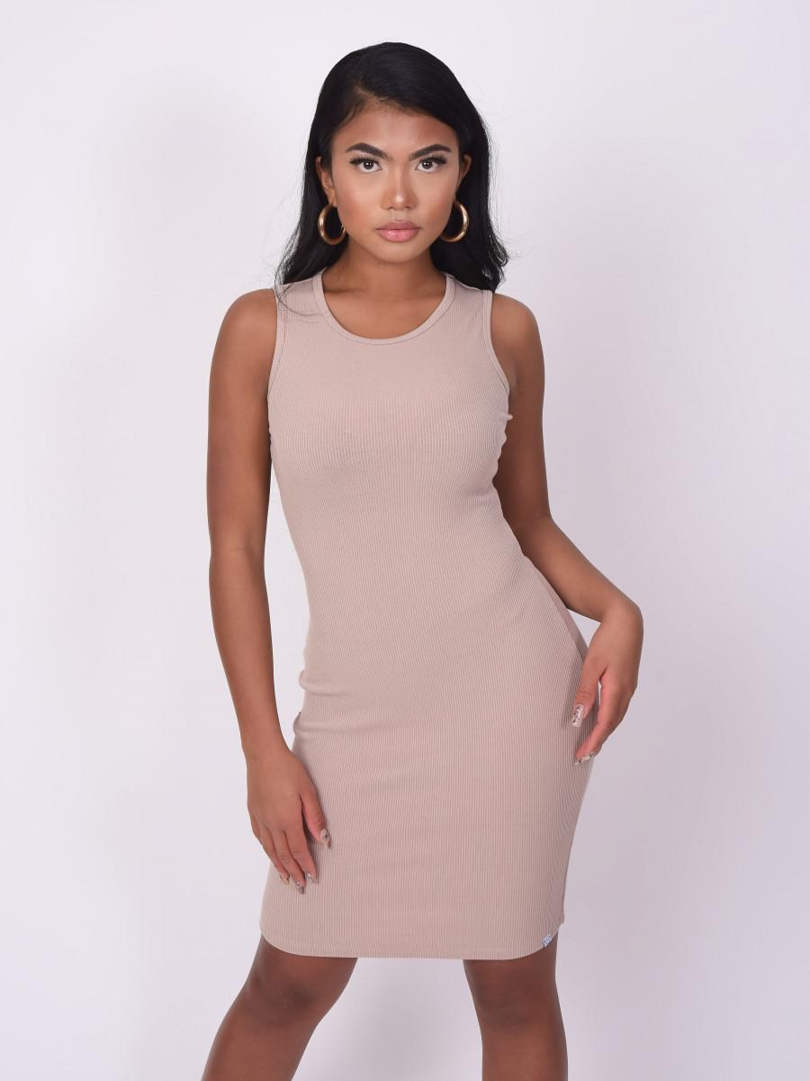 Basic ribbed Dress