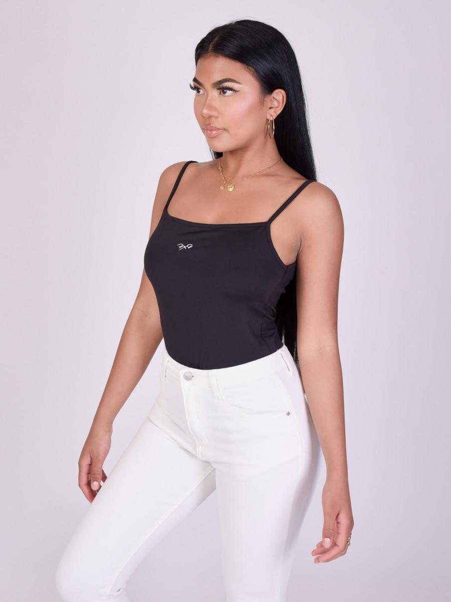 Basic Bodysuit with thin straps