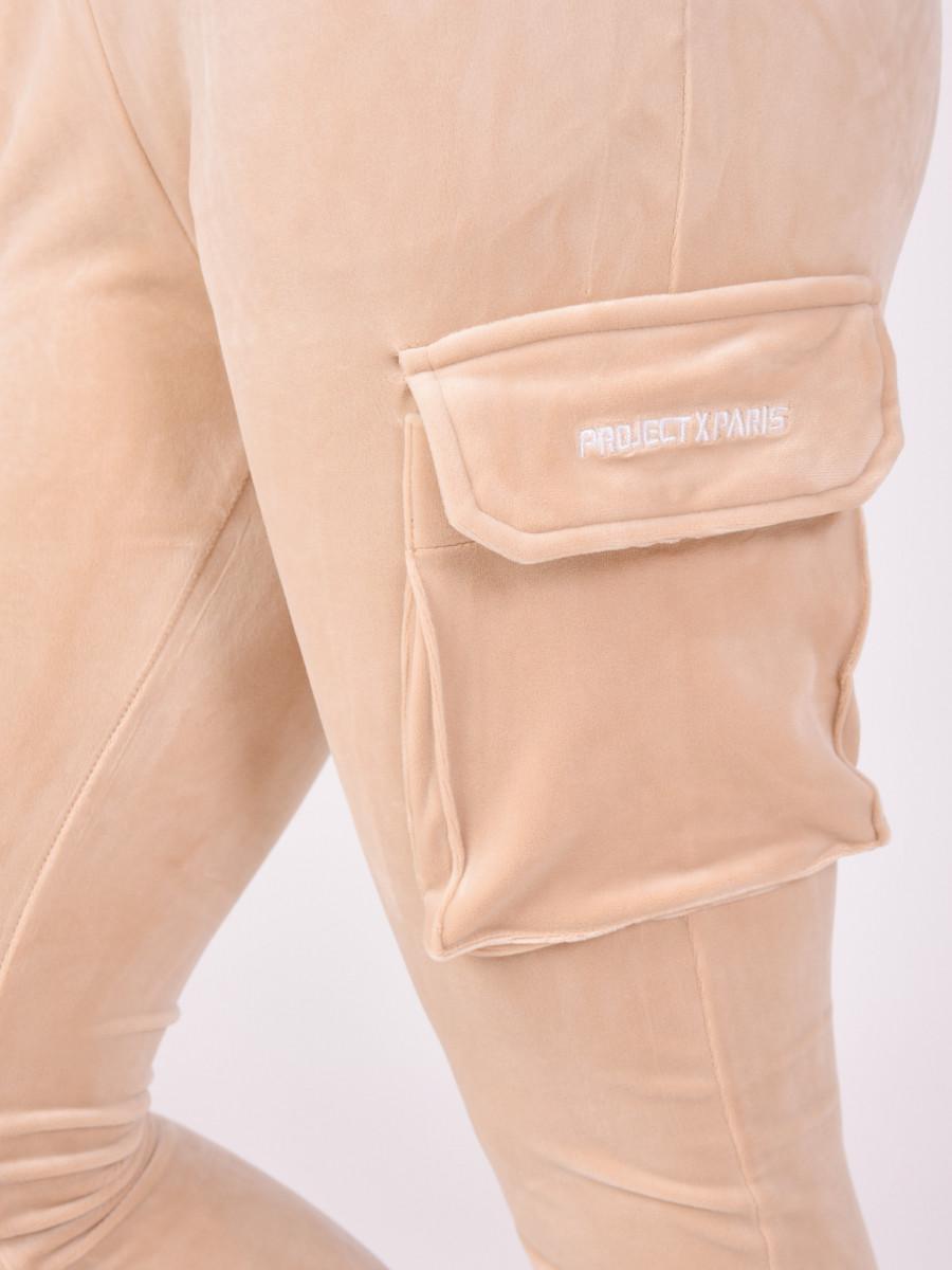 Pantalon de jogging en velours