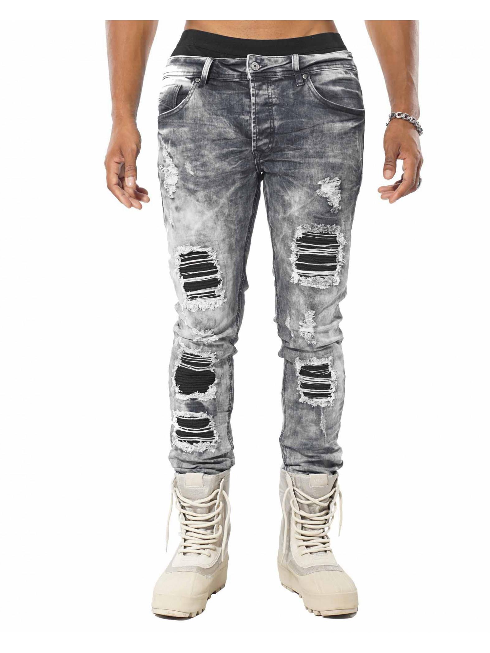 jeans d lav slim homme project x paris 88169912. Black Bedroom Furniture Sets. Home Design Ideas