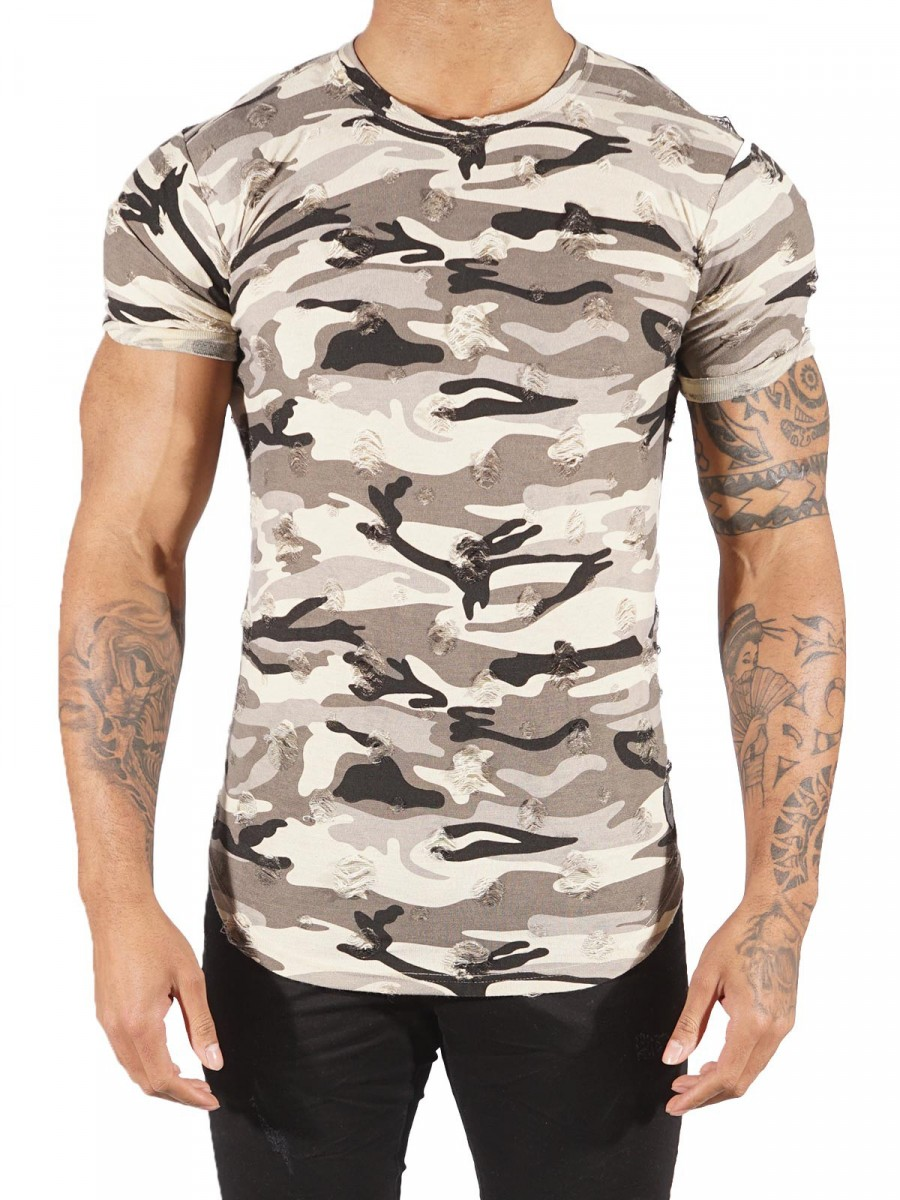 camouflage tee shirt project x paris 88161155. Black Bedroom Furniture Sets. Home Design Ideas