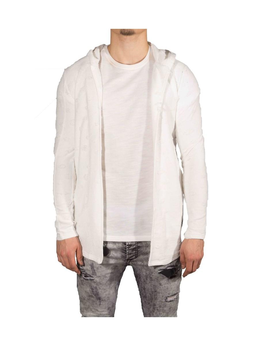 Hooded Cape Jacket