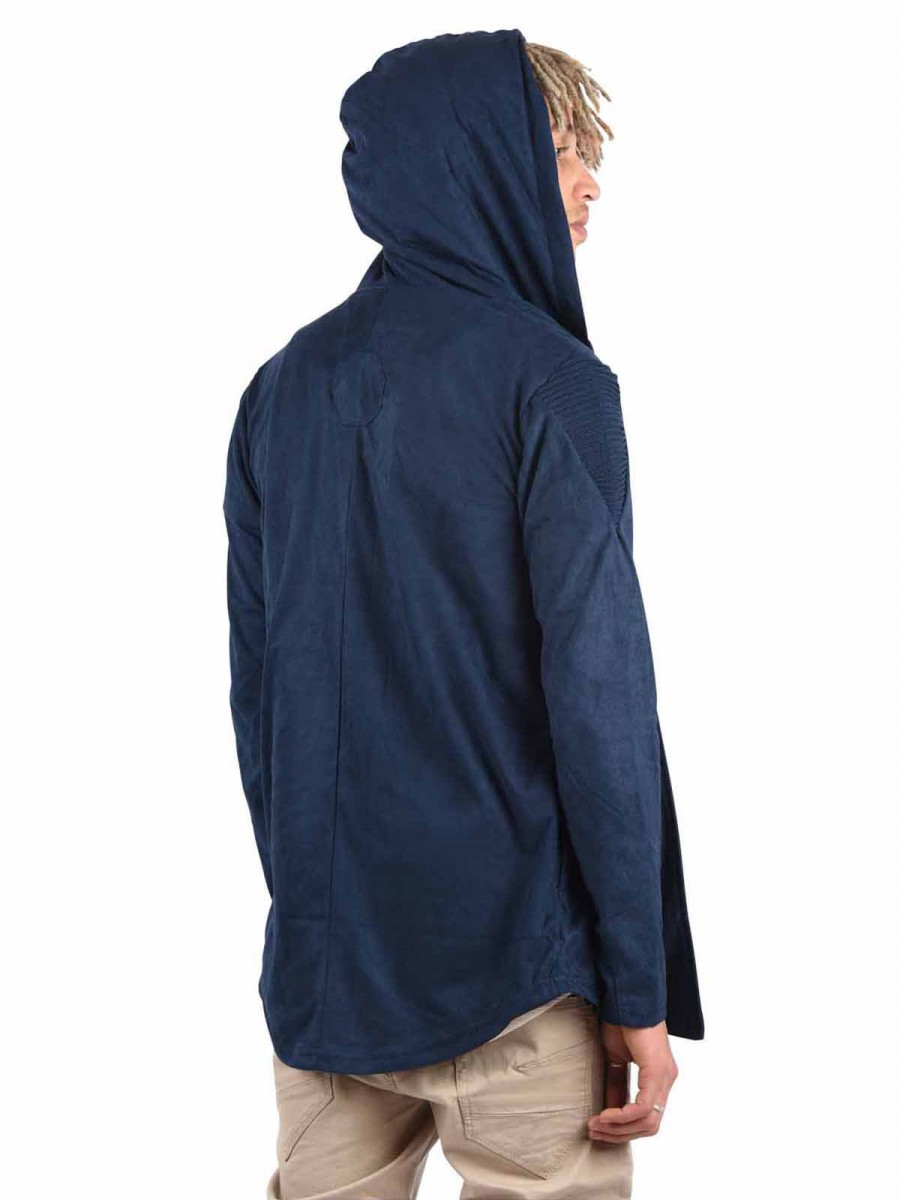 Suede Hooded Nubuck Jacket