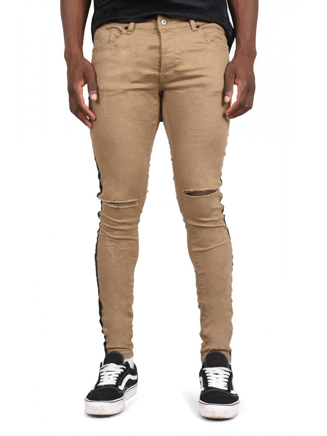 Jean Skinny Bandes Lat Rales Homme Project X Paris