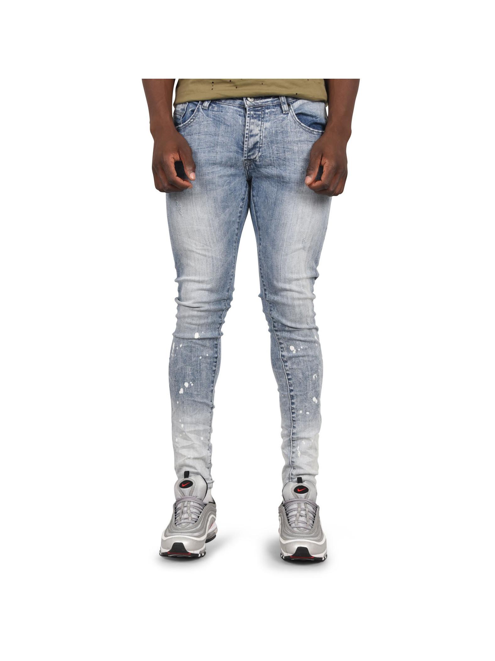Jean Effet Tacheté Dye X Paris Homme Et Project And Skinny Tie wT45qrwCx