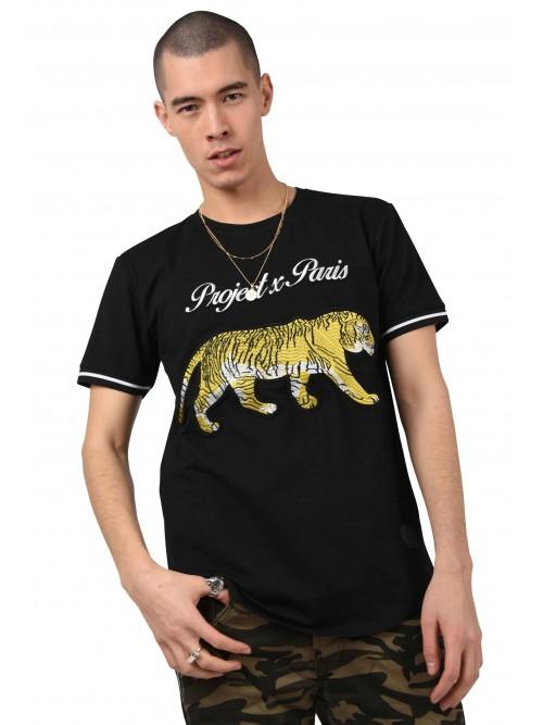 Tee shirt patch Tiger Homme Project X Paris