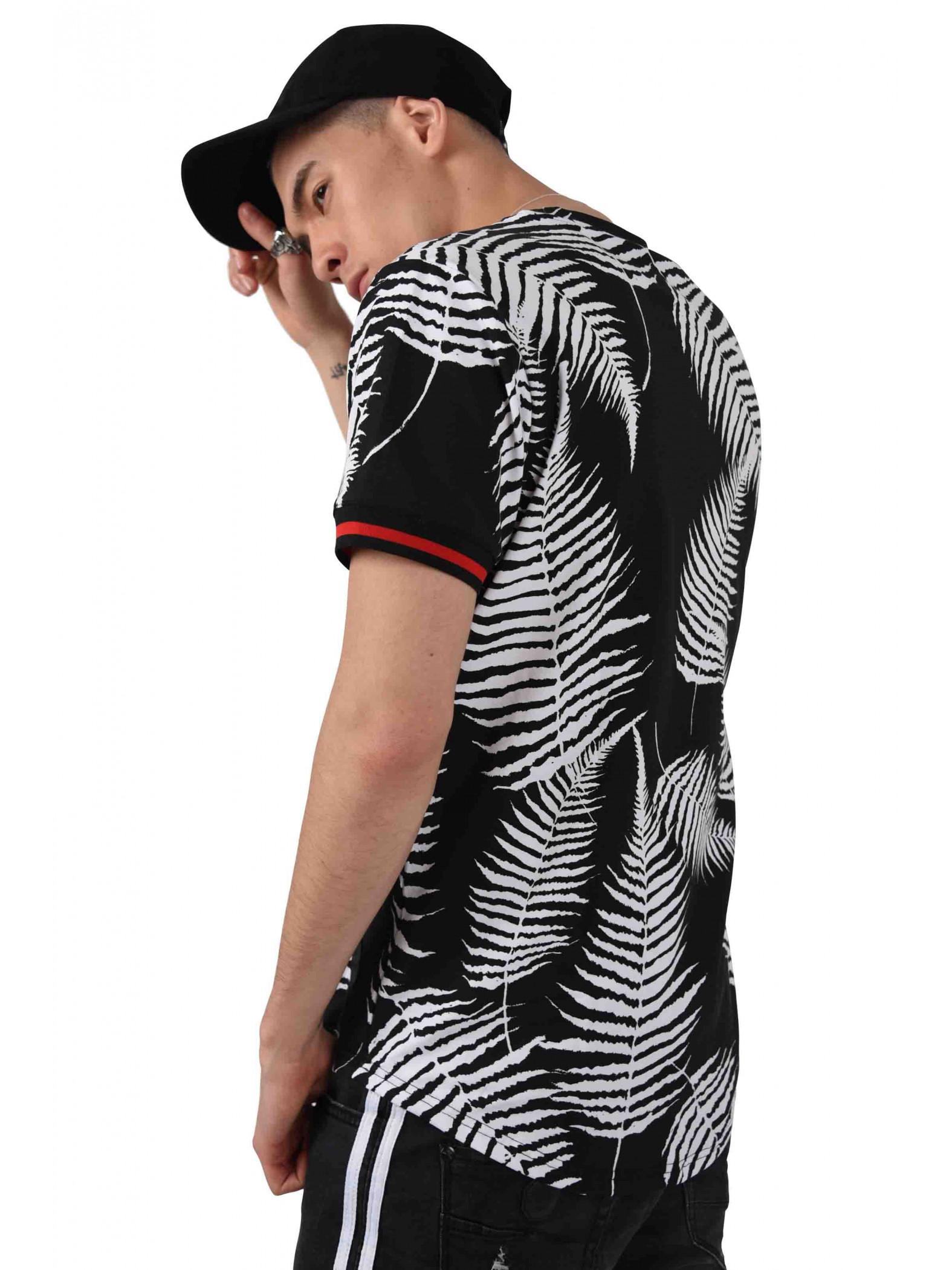 Homme Project X Paris Imprimé Shirt Bicolore Tropical Tee W2ebDHYE9I