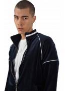 Veste zippée velvet à col contrastant Project X Paris