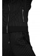 Hoodie rayure tennis et bandes contrastantes Femme Project X Paris