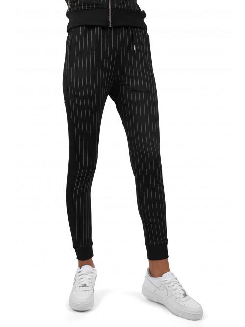 Pantalon de jogging rayure tennis et bandes contrastantes Femme Project X Paris