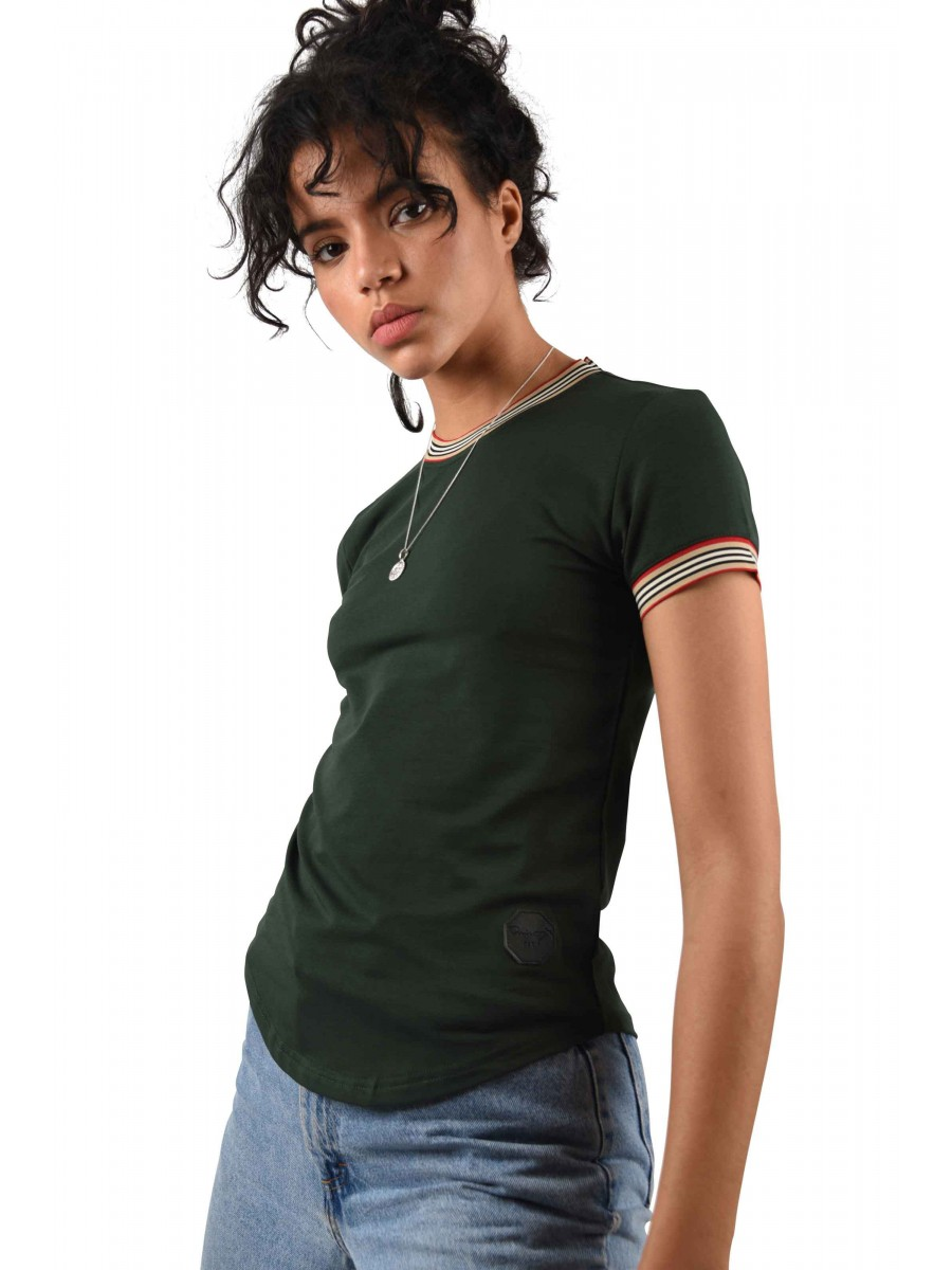 Tee shirt à rayures Femme Project X Paris