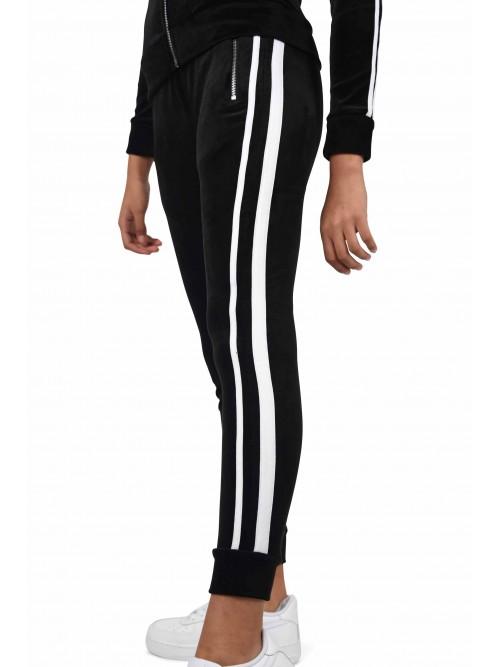 Pantalon de jogging velvet doubles bandes Femme Project X Paris
