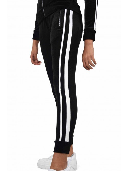 Pantalon de jogging velvet doubles bandes Femme Project X Paris