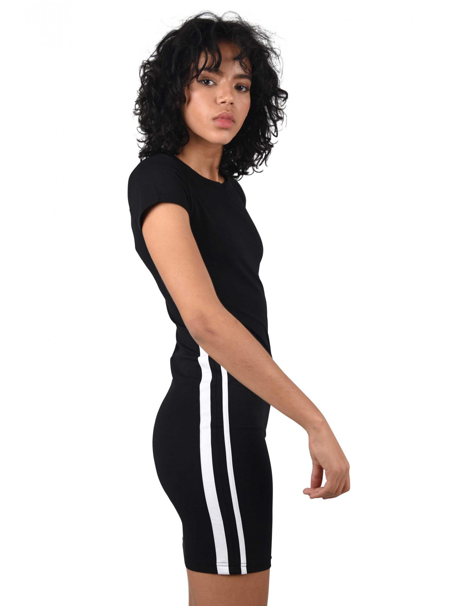 Femme En Robe Moulante robe moulante doubles bandes femme project x paris