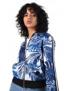 Veste imprimé tropical et bandes bicolores Femme Project X Paris