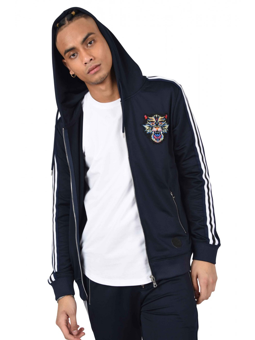 Band Panthère and Project Paris X Contrasting Hoody Patch Men r77vfqIn