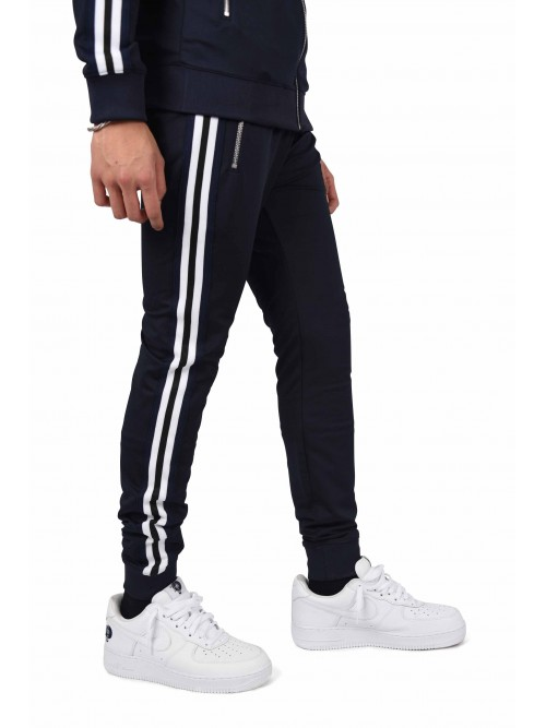 Pantalon de jogging patch panthère et bandes contrastantes Homme Project X  Paris 158d42fb6224