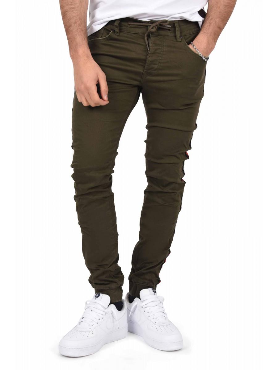 Wählen Sie für neueste neue Fotos schön und charmant Slim Fit Jogger Jeans with Two-Tone Stripe