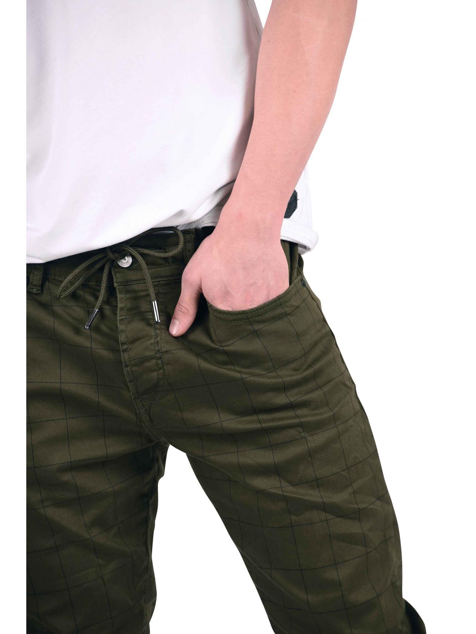 pantalon ajust carreaux et fines rayures homme project. Black Bedroom Furniture Sets. Home Design Ideas