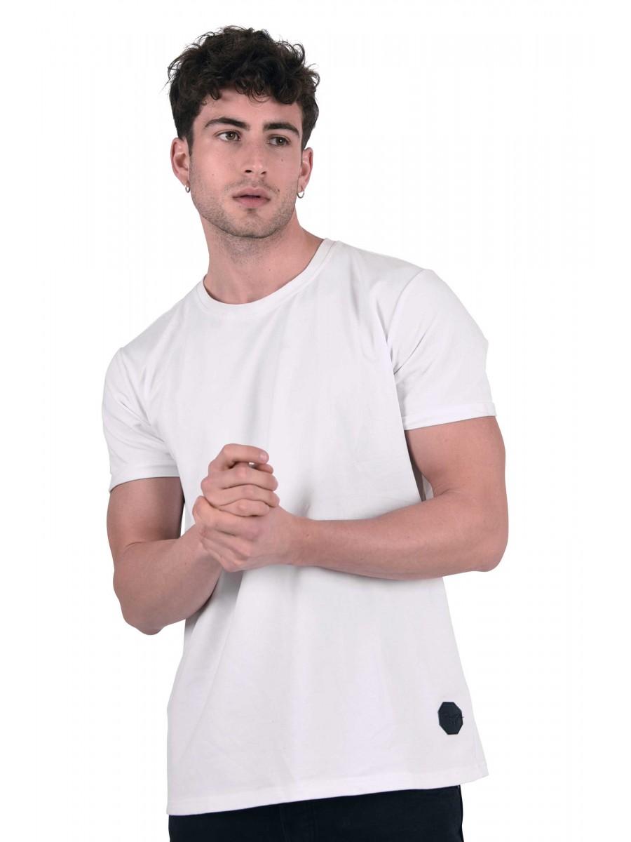 882e299ecf99f Tee shirt basique manches retroussées Homme Project X Paris