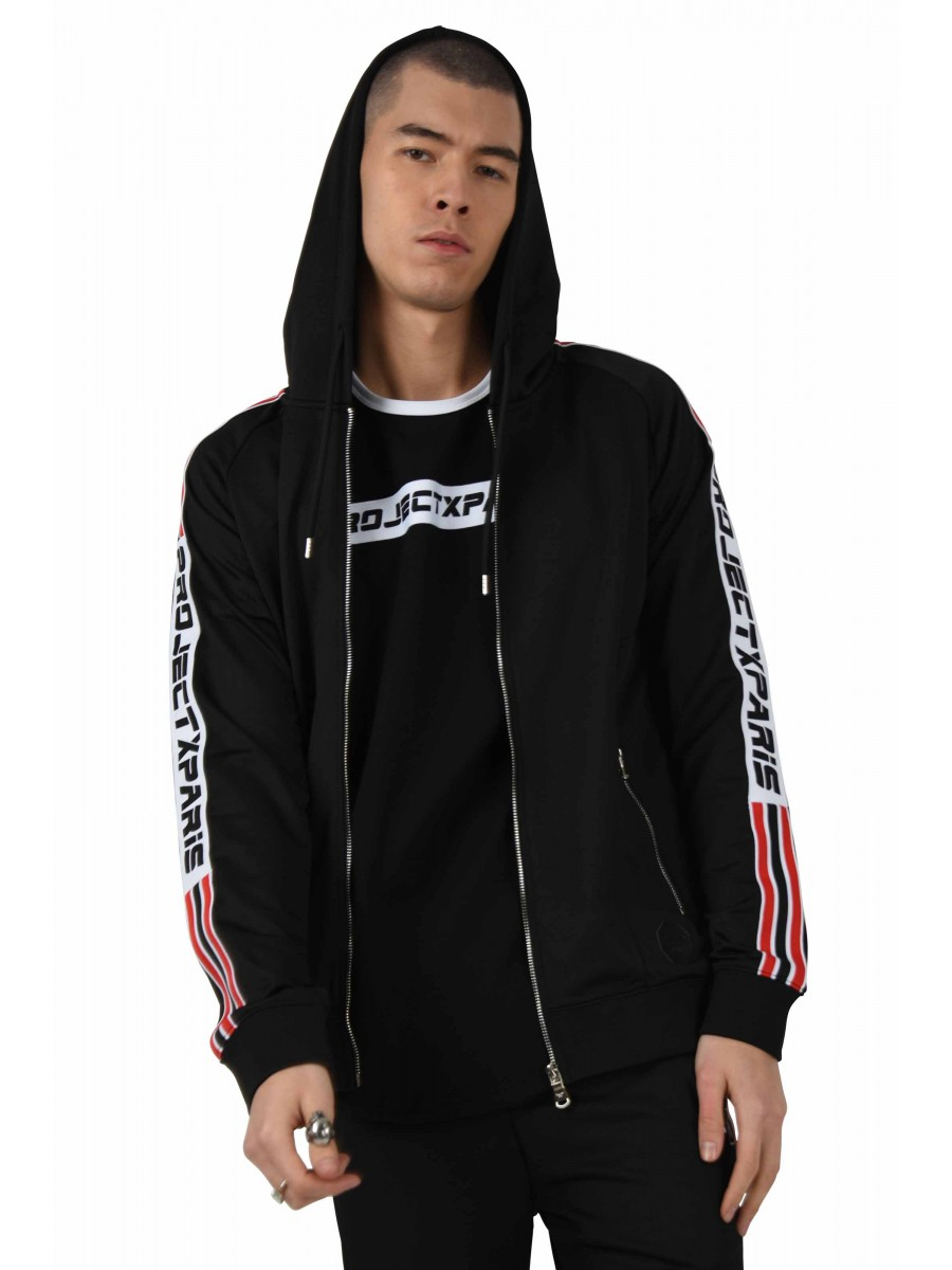 Jacket with Racing Stripe