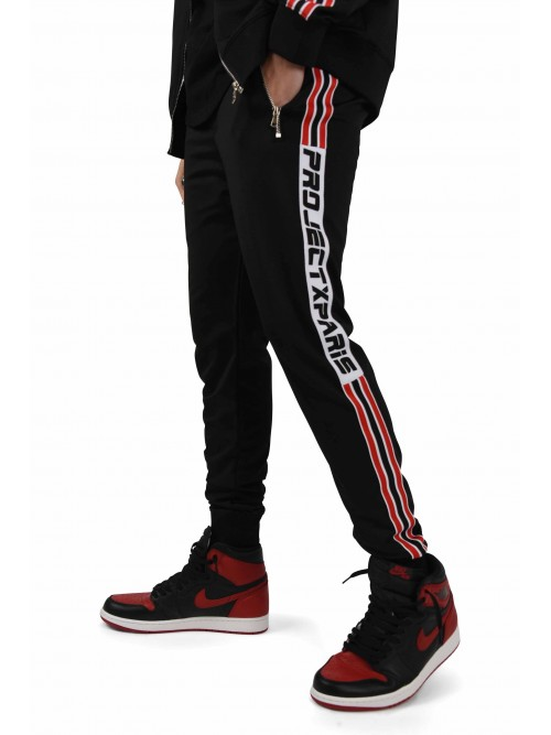 Pantalon de jogging bandes racing Homme Project X Paris