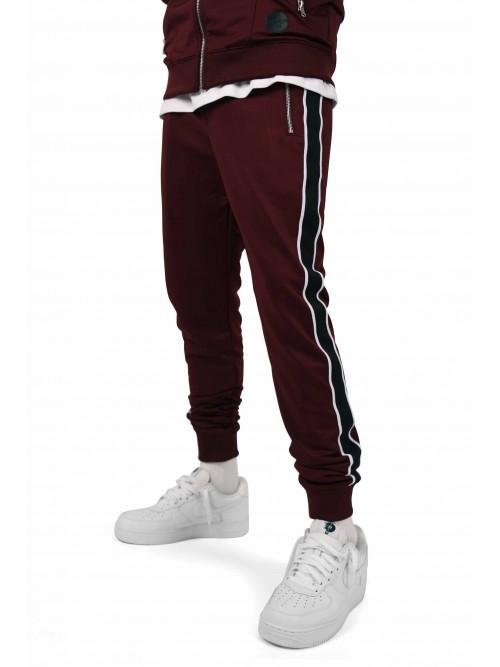 Pantalon de jogging bandes latérales bicolores contrastantes Homme Project X Paris