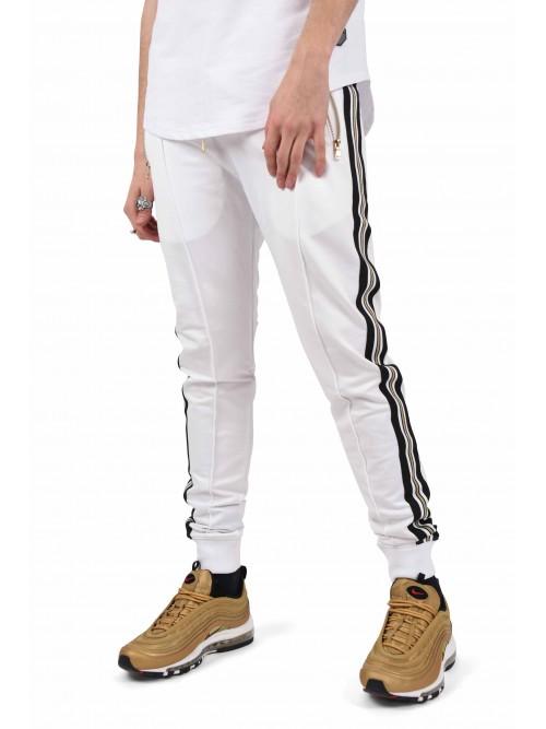 Pantalon de jogging bandes dorées Homme Project X Paris