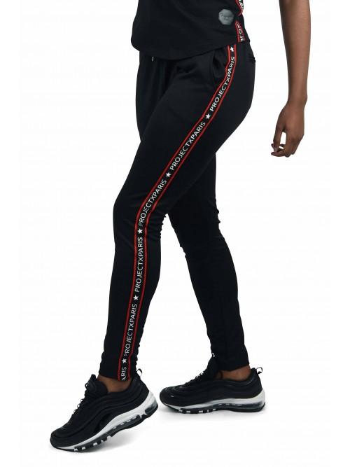 Pantalon de jogging bandes contrastantes Femme Project X Paris