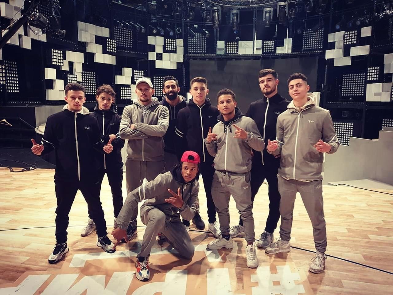Groupe danseurs