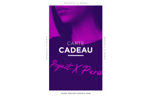 Gift card Project X Paris - Fushia