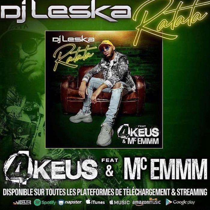 """Nouveau clip """"Ratata"""" DJ leska en featuring avec les 4 keus"""