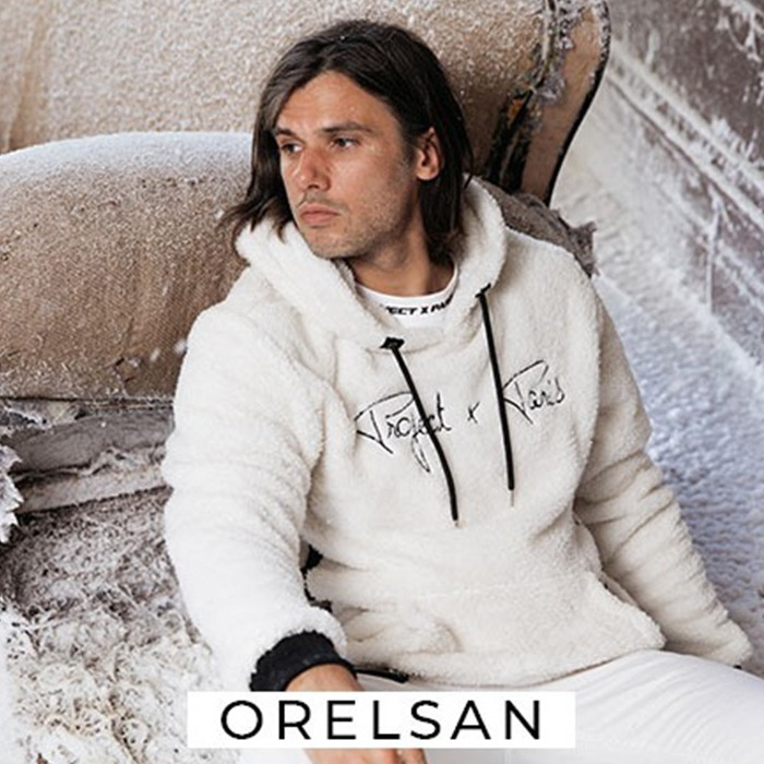 Orelsan shoot pour Project X Paris !